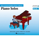 Hal Leonard Student Piano Library Piano Solos Book 1 - Audio Access Included