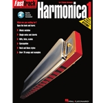 FastTrack Harmonica Method – Book 1 for Diatonic Harmonica  Harmonica