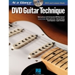 At a Glance Guitar Technique DVD/Book Pack