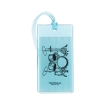 Drums Rubber Luggage Tag