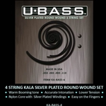Silver W. Nylon U-Bass Set .50 - 110