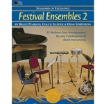Standard of Excellence: Festival Ensembles Book 2 - Bassoon/Trombone/Baritone B.C. 2.5