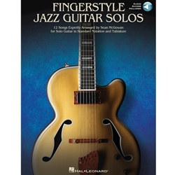 Fingerstyle Jazz Guitar Solos w/Audio  Guitar